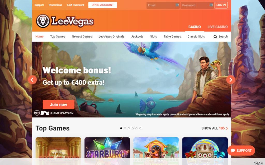 LeoVegas Online Casino Review